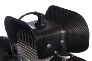 ACC160 & ACC161 - Carbon Fiber Fibre Head Cooling Shroud (Moster185) Choose TOP or SIDE Mounted